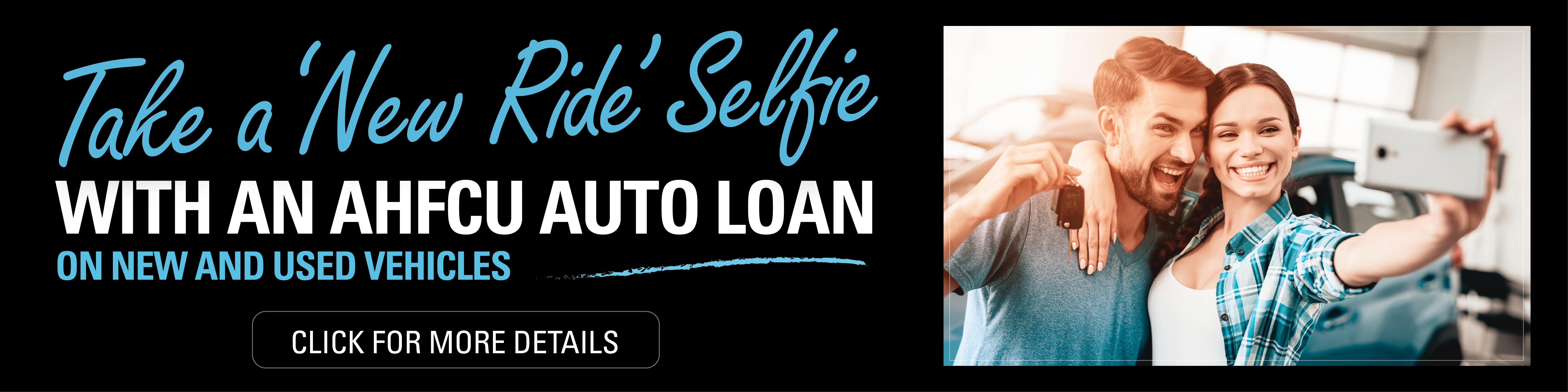 AHFCU auto loan