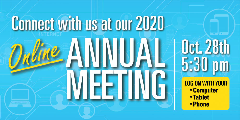Online Annual Meeting October 28, 2020